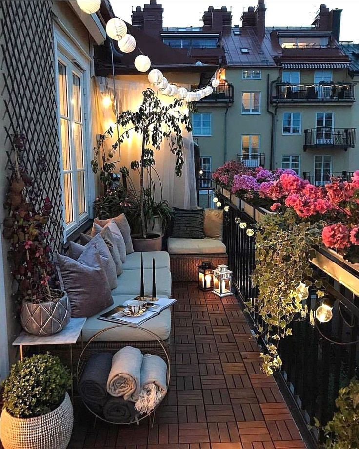 5 Suggestions for a Terrace Party