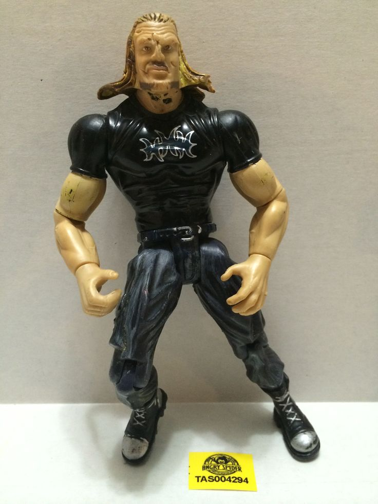 (TAS004294) - WWF WWE WCW Jakks LJN Wrestling Figure - Triple H (HHH)