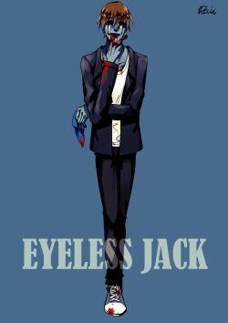 eyeless jack | Tumblr
