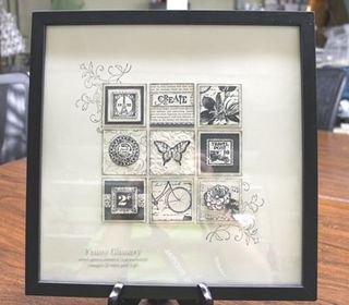 Stampin' Up! Frame Collage  by Penny Ginnery