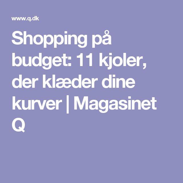 Shopping på budget: 11 kjoler, der klæder dine kurver   Magasinet Q