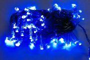 Yılbaşı Çam Ağacı Mavi Led Işık
