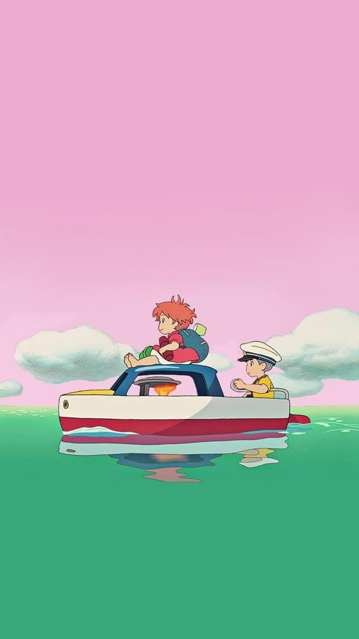 Movie Ponyo Ghibli Artwork Studio Ghibli Studio Ghibli Movies