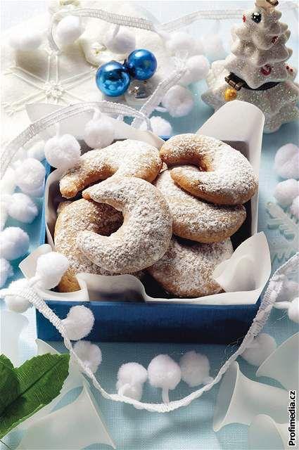 Vanilla rolls - Czech Christmas cookies