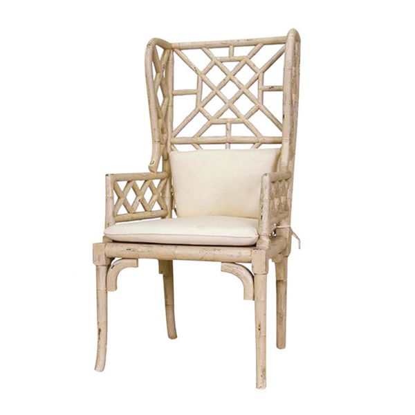 Bamboo Wing Back Chair · Arm ChairsDining ChairsFurniture OutletOnline ...