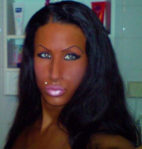 Really Naturally Tan People Looking terrible - (ba...