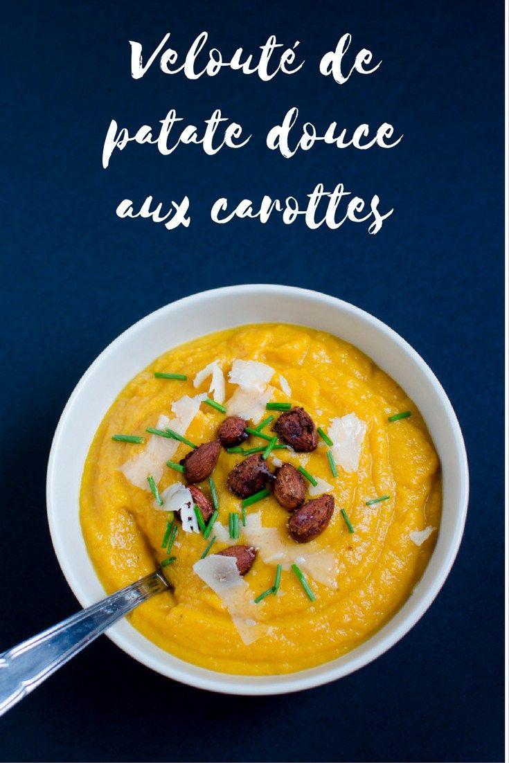 Velouté de patate douce et carottes