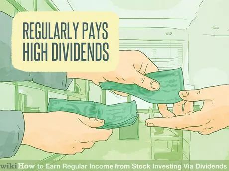 Image titled Earn Regular Income from Stock Investing Via Dividends Step 2