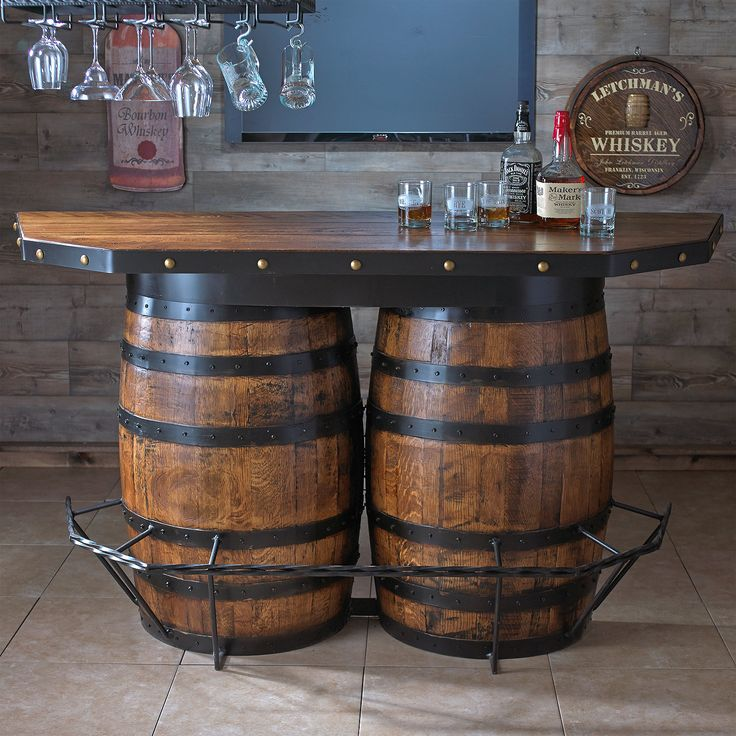 Tennessee Whiskey Barrel Bar 17 best barrel