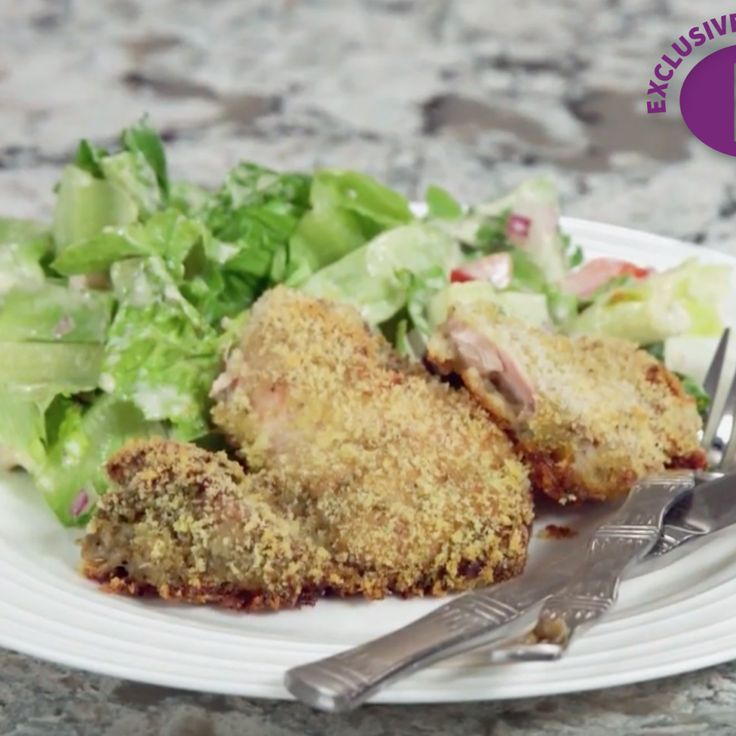 Not interested in standing over a pan of hot oil to get delicious schnitzel? Neither is Danielle. So she came up with this brilliant—and delectable—crispy chicken. Bursting with pesto flavor, these breaded pargiyot (boneless chicken thighs) will delight every time! Click here to watch Di...