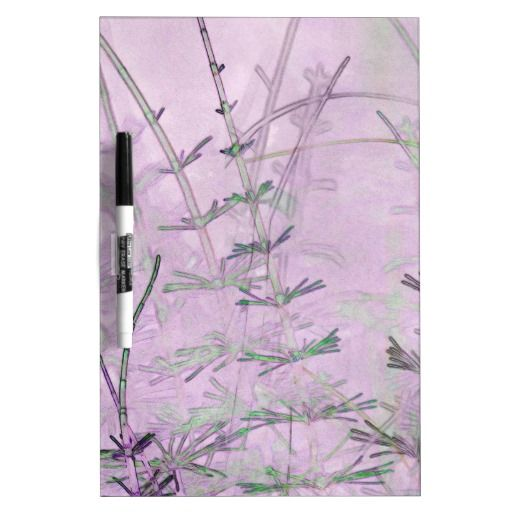 Horsetail Grass/Stems Dry-Erase Whiteboards