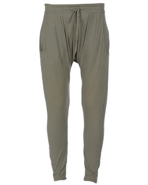 Cocoon Viscose Jersey Soft Pants Olive