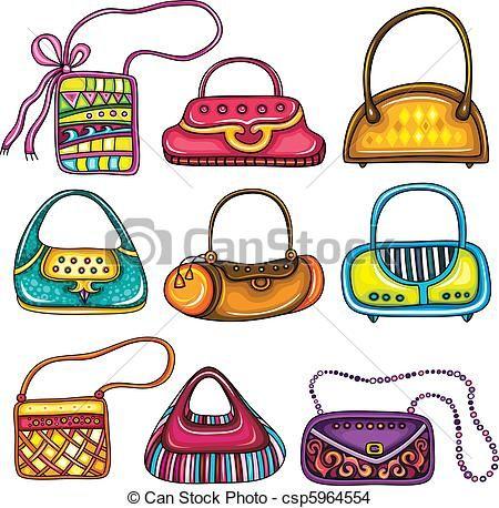 handtassen tekeningen - Google zoeken