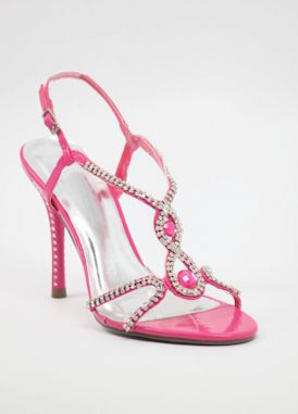 "Pink Prom shoes with 4"" heels (Style 800-15)"
