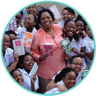 """We were so thrilled to have given May Books to the Oprah Winfrey Leadership Academy for Girls in South Africa for the past two years. We monogramed hundreds of notebooks with the school's motto, """"Life 101,"""" and each student was able to pick out their favorite pattern! We are so proud to be part of this initiative and are thrilled we got to be a small participant in the girls' joy while they were at the Academy! // #maydesigns #favoritethings2014 #oprahsfavoritethings #oprah"""