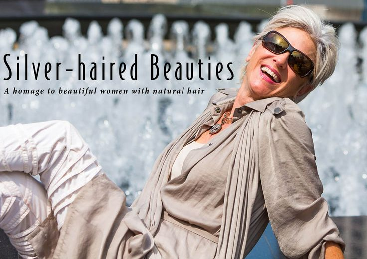 This blog will combine my love of photography with my enjoyment of women's fashion, while exploring the aesthetic, cultural, and practical implications of 'going gray'.