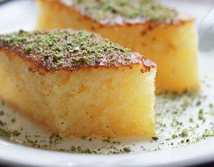 ramazan iftar menüsü, revani tatlısı tarifi