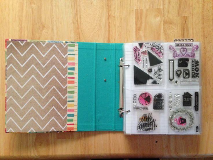Mrs Crafty Adams: Stamp Storage