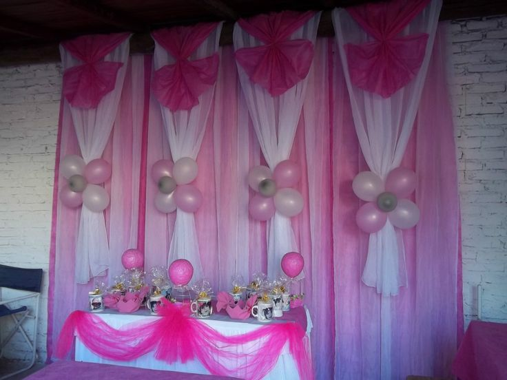 Decoracion en telas y globos tigre en mercadolibre for Balloon decoration ideas for quinceaneras