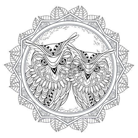 110 besten MANDALAS CON ANIMALES Bilder auf Pinterest | Keltische ...