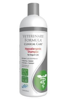 Synergy Labs Veterinary Formula Clincal Care Hypoallergenic Shampoo For Sensitive Skin - Sulfate Free - 17 oz.