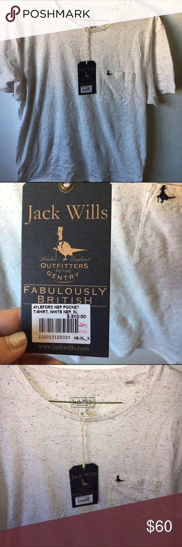 Jack Wills Top Shirt Tee Speckled Size XL Jack Wills Top Shirt Tee Speckled Size XL, new with tags. Jack Wills Tops