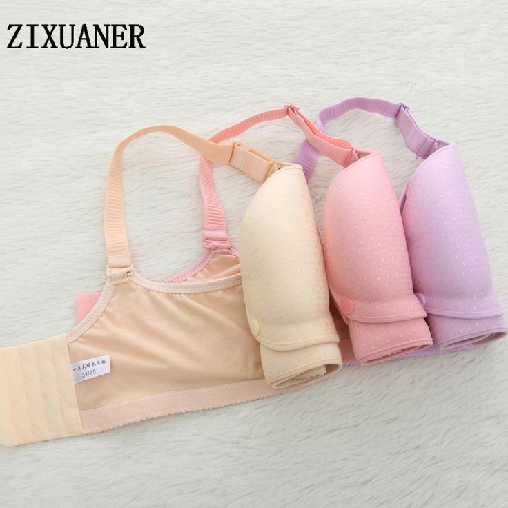 ZIXUANER Hot Luxury Maternity Breastfeeding bras for pregnant women nursing clothes push up gather mother feeding Underwear bra #Affiliate