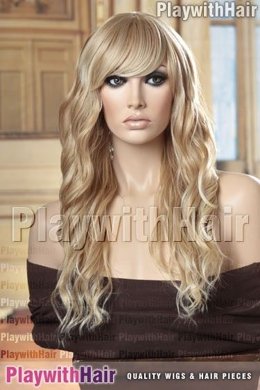 Sepia - Ophelia Heat Friendly Synthetic Wig - Synthetic Wigs