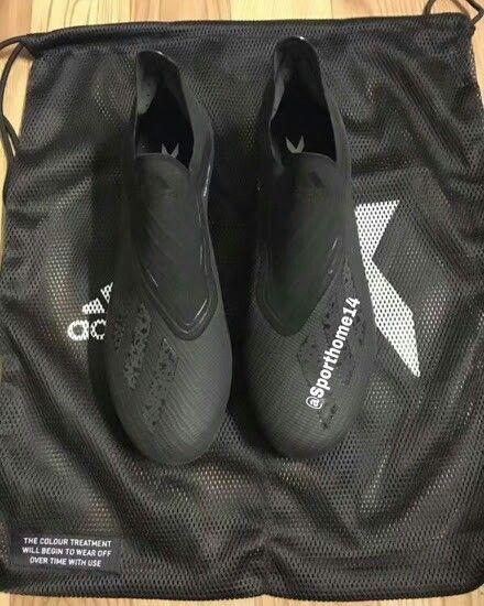 6548efadf827 ... Unique laceless blackout next-gen adidas x 18+ boots leaked ...