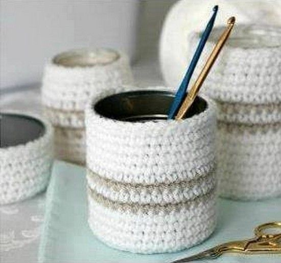 Extrem 25+ unique Crochet vase ideas on Pinterest | Crochet jar covers  YD02