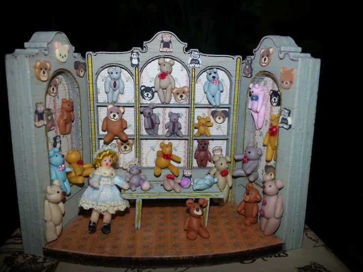 Escena en miniatura realizada por alumna del Taller TM.