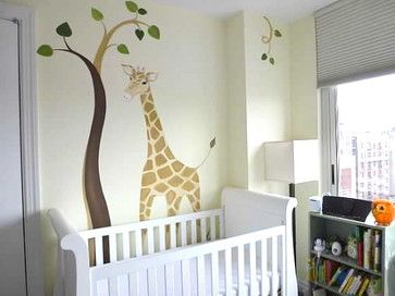 NYC Twin Girls   traditional   kids   new york   Murals and more by  Patrice  Twin GirlsNursery IdeasBaby  238 best Animal themed images on Pinterest   Nursery ideas  Babies  . Animal Themed Nursery Ideas. Home Design Ideas