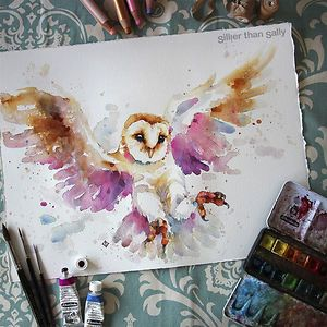Colorful Watercolor Paintings
