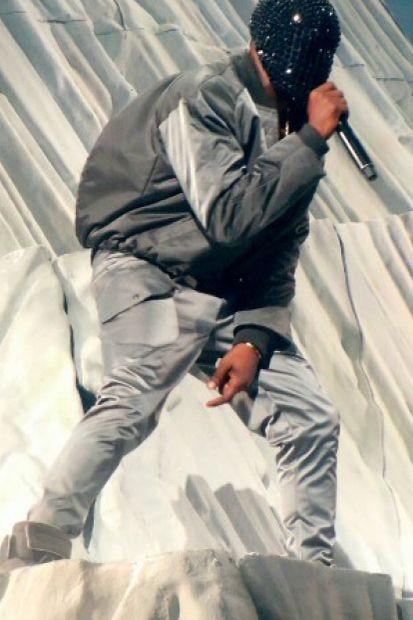 Image of Maison Martin Margiela Designs Custom Outfits for Kanye West's 'Yeezus' Tour
