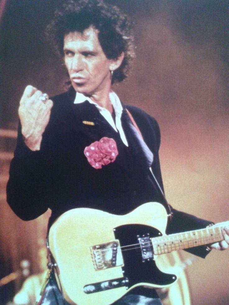 Keith Richards 1989