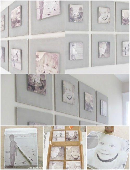 Nos 13 superbes idées pour donner une place aux photos dans votre maison - DIY Idees Creatives
