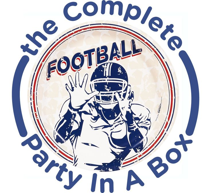 Football Game Time Party in a Box from BirthdayExpress.com