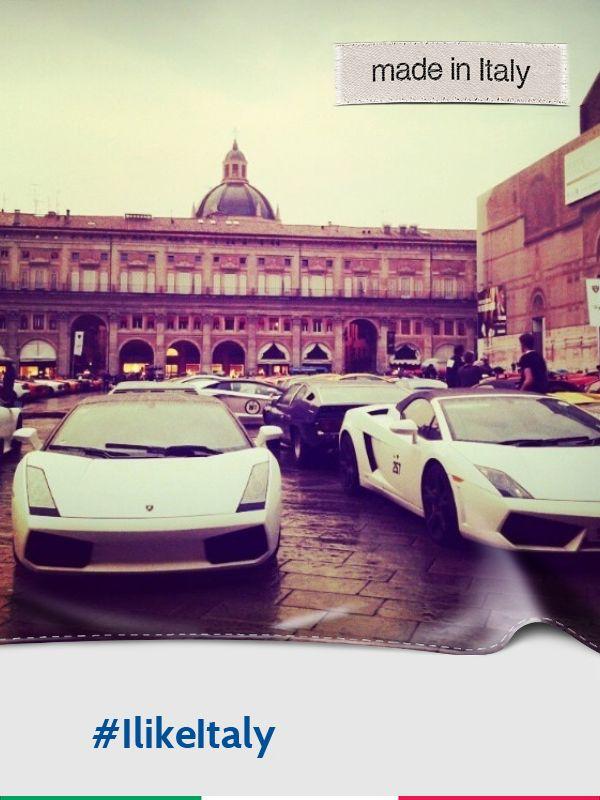 @casarinigiulia: #Lamborghini 50th anniversary #ilikeitaly #Bologna