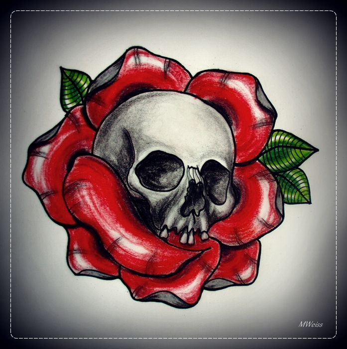 36 best images about skull love on pinterest dagger for Skull love tattoos