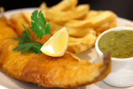 White Fish - excellent fish and chips