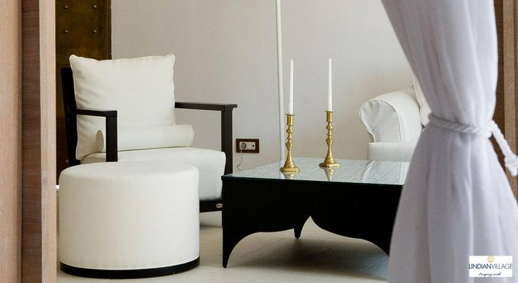 Pure white elegance! Eclectic luxury living for unique holiday experiences in Rhodes! More at lindianvillage.gr