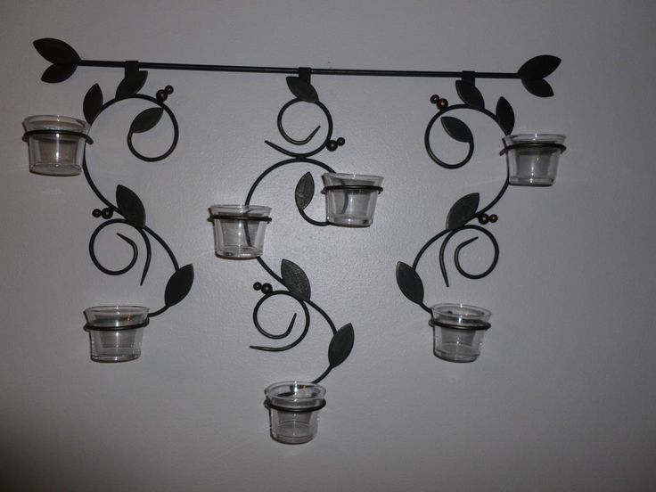 Partylite Verona Versatility Sconce With Glass Tealight