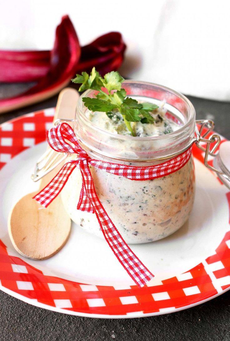 Salsa vegana allo yogurt di soia