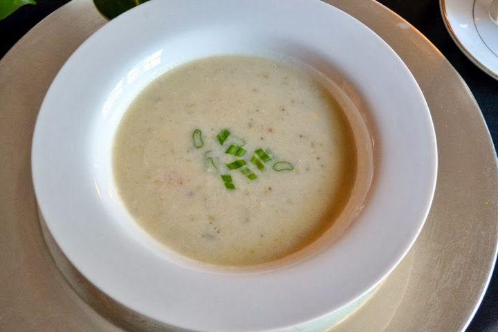 Shrimp & Corn Chowder - Fall Lunch Menu | Design OCD