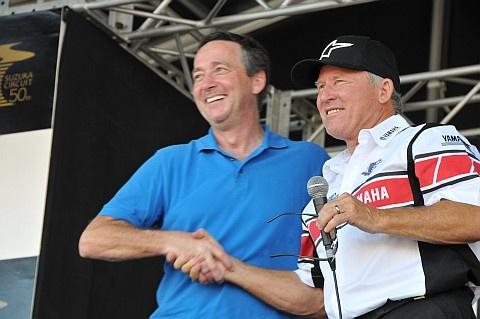 Freddie & Kenny  Suzuka Circuit 50th anniversary day