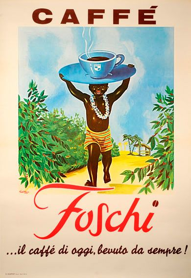 Caffe Foschi Vintage Poster   #TuscanyAgriturismoGiratola