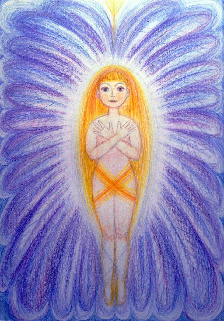 Priestess of Divine Protection by Ivana Axman #goddess #priestess #symbols #pagan #witch #visionaly #wicca