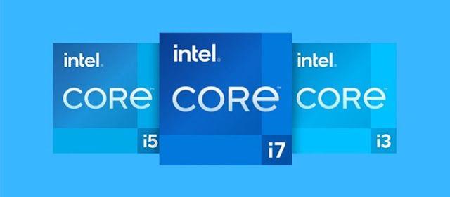 Intel Rocket Lake تسريب أداء Core I9 11900k Intel Core Gaming Logos