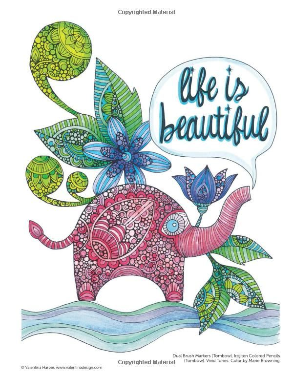 Creative coloring inspirations art activity pages to for Creative art projects for adults