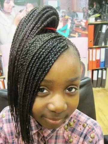 Cute Braid Hairstyles For Little Girls Models